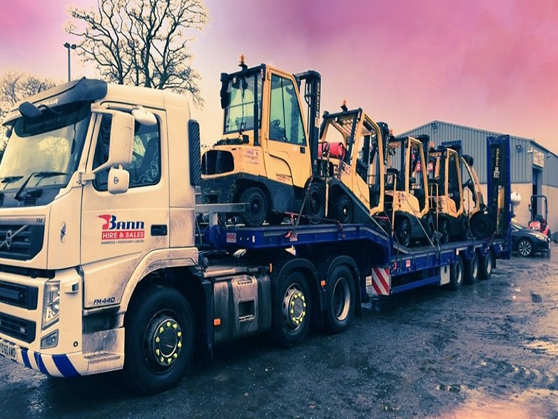 EX CONTRACT HIRE GAS FORKLIFTS FOR SALE