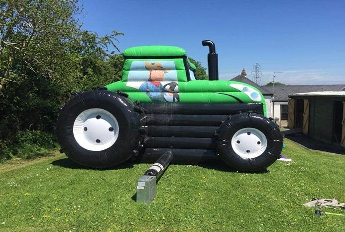 Green tractor 1