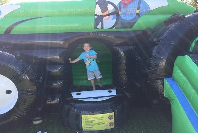 Green tractor 3