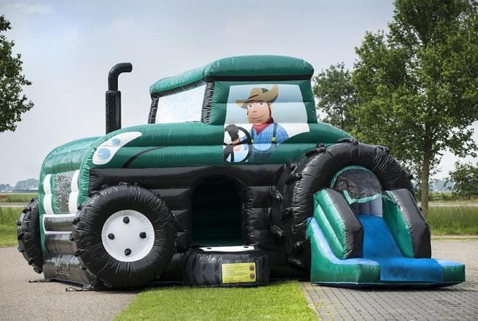 Green tractor 7