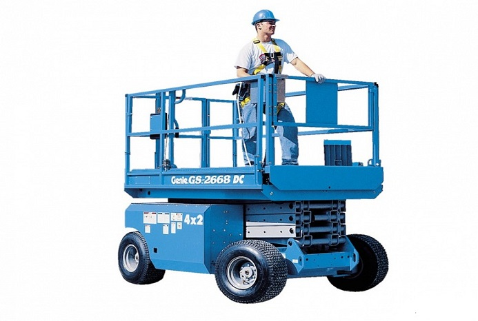 26 ft All Terrain Diesel Scissor Lift