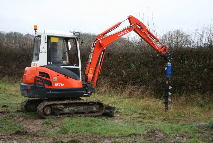 3 ton Post Hole Borer