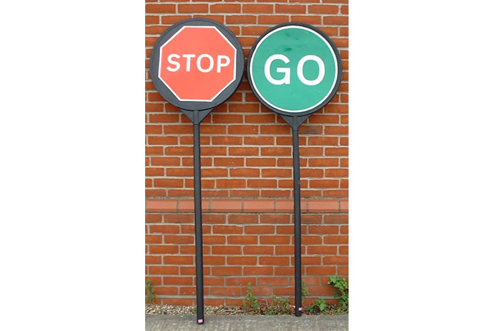 Manual Stop Go Boards