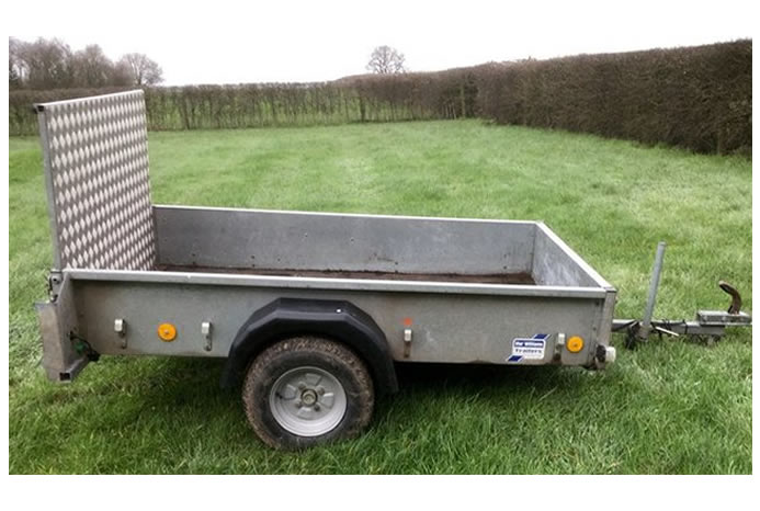 Single Axle 6 x 4 Trailer